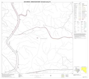Primary view of object titled '2010 Census County Block Map: Val Verde County, Block 55'.