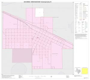 Primary view of object titled '2010 Census County Block Map: Armstrong County, Inset B01'.