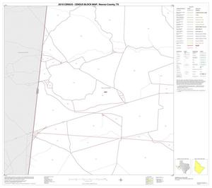 Primary view of object titled '2010 Census County Block Map: Reeves County, Block 21'.
