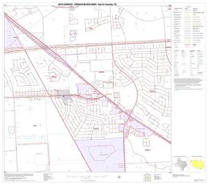 Primary view of object titled '2010 Census County Block Map: Harris County, Block 111'.