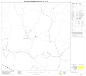 Primary view of object titled '2010 Census County Block Map: Sutton County, Block 11'.