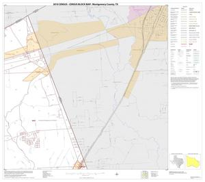 Primary view of object titled '2010 Census County Block Map: Montgomery County, Block 25'.