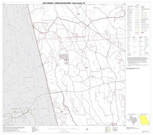 Primary view of object titled '2010 Census County Block Map: Tyler County, Block 4'.