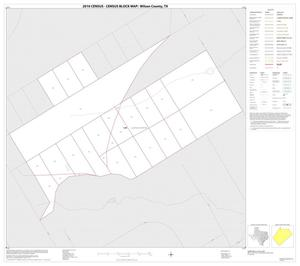 Primary view of object titled '2010 Census County Block Map: Wilson County, Inset A01'.