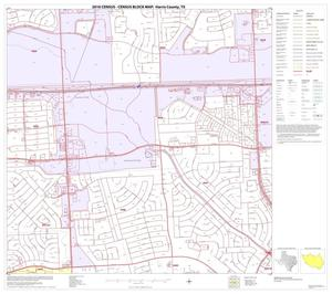 Primary view of object titled '2010 Census County Block Map: Harris County, Block 190'.