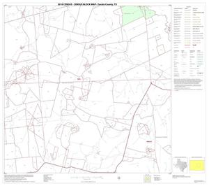 Primary view of object titled '2010 Census County Block Map: Zavala County, Block 7'.