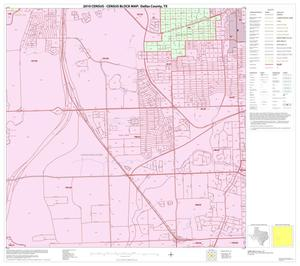 Primary view of object titled '2010 Census County Block Map: Dallas County, Block 48'.