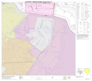 Primary view of object titled '2010 Census County Block Map: Orange County, Block 25'.