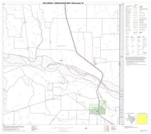 Primary view of object titled '2010 Census County Block Map: Hall County, Block 8'.