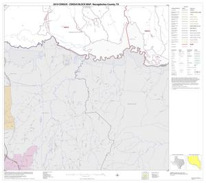 Primary view of object titled '2010 Census County Block Map: Nacogdoches County, Block 16'.