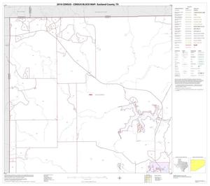 Primary view of object titled '2010 Census County Block Map: Eastland County, Block 1'.
