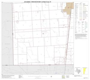 Primary view of object titled '2010 Census County Block Map: Jim Wells County, Block 18'.