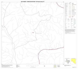 Primary view of object titled '2010 Census County Block Map: Val Verde County, Block 33'.
