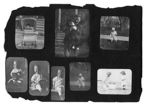 Primary view of object titled '[Photo album of ten photographs]'.