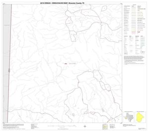 Primary view of object titled '2010 Census County Block Map: Brewster County, Block 81'.