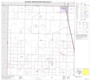 Primary view of object titled '2010 Census County Block Map: Swisher County, Block 1'.