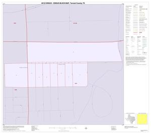 Primary view of object titled '2010 Census County Block Map: Tarrant County, Inset M01'.
