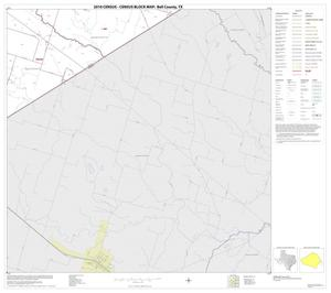 Primary view of object titled '2010 Census County Block Map: Bell County, Block 25'.