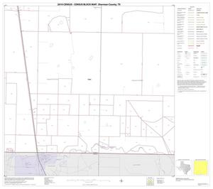 Primary view of object titled '2010 Census County Block Map: Sherman County, Block 14'.