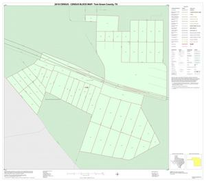 Primary view of object titled '2010 Census County Block Map: Tom Green County, Inset B01'.