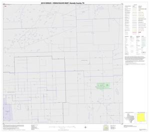 Primary view of object titled '2010 Census County Block Map: Kenedy County, Block 28'.