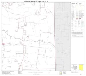 Primary view of object titled '2010 Census County Block Map: Duval County, Block 20'.