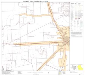 Primary view of object titled '2010 Census County Block Map: Liberty County, Block 15'.