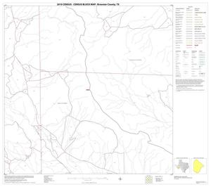 Primary view of object titled '2010 Census County Block Map: Brewster County, Block 57'.