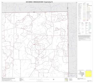 Primary view of object titled '2010 Census County Block Map: Young County, Block 4'.
