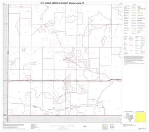 Primary view of object titled '2010 Census County Block Map: Wheeler County, Block 7'.