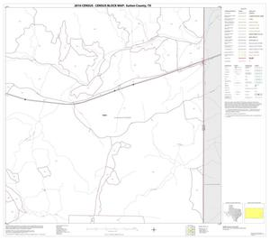 Primary view of object titled '2010 Census County Block Map: Sutton County, Block 18'.