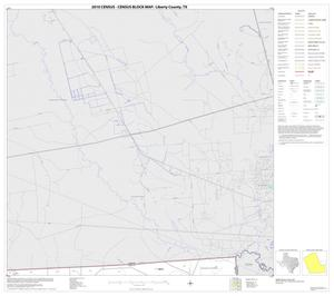 Primary view of object titled '2010 Census County Block Map: Liberty County, Block 13'.