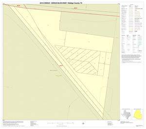 Primary view of object titled '2010 Census County Block Map: Hidalgo County, Inset F01'.