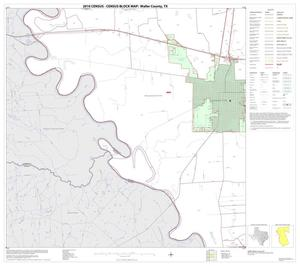 Primary view of object titled '2010 Census County Block Map: Waller County, Block 4'.