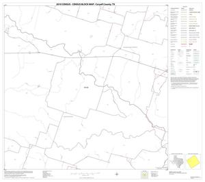 Primary view of object titled '2010 Census County Block Map: Coryell County, Block 10'.