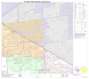 Primary view of object titled '2010 Census County Block Map: Fort Bend County, Block 12'.
