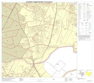 Primary view of object titled '2010 Census County Block Map: Travis County, Block 35'.