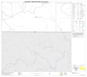 Primary view of object titled '2010 Census County Block Map: Kerr County, Block 33'.