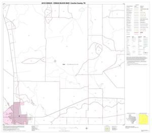 Primary view of object titled '2010 Census County Block Map: Concho County, Block 11'.