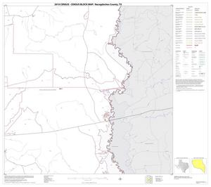 Primary view of object titled '2010 Census County Block Map: Nacogdoches County, Block 18'.