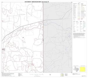 Primary view of object titled '2010 Census County Block Map: Irion County, Block 8'.