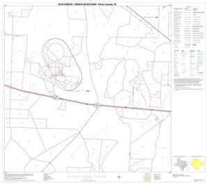 Primary view of object titled '2010 Census County Block Map: Pecos County, Block 25'.