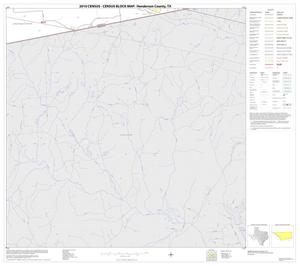 Primary view of object titled '2010 Census County Block Map: Henderson County, Block 29'.