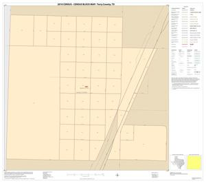 Primary view of object titled '2010 Census County Block Map: Terry County, Inset A01'.