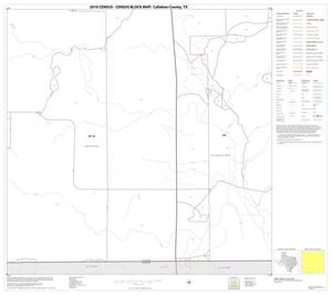 Primary view of object titled '2010 Census County Block Map: Callahan County, Block 14'.