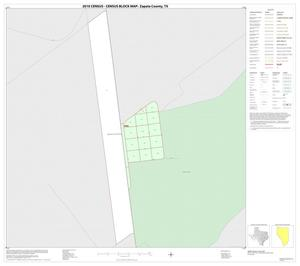 Primary view of object titled '2010 Census County Block Map: Zapata County, Inset G01'.
