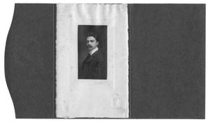 Primary view of object titled '[Portrait of man in folder]'.