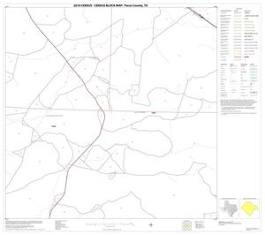 Primary view of object titled '2010 Census County Block Map: Pecos County, Block 43'.
