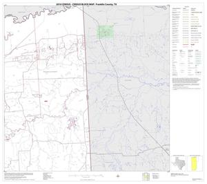 Primary view of object titled '2010 Census County Block Map: Franklin County, Block 3'.