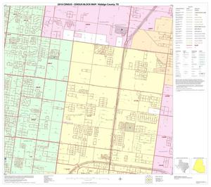 Primary view of object titled '2010 Census County Block Map: Hidalgo County, Block 88'.